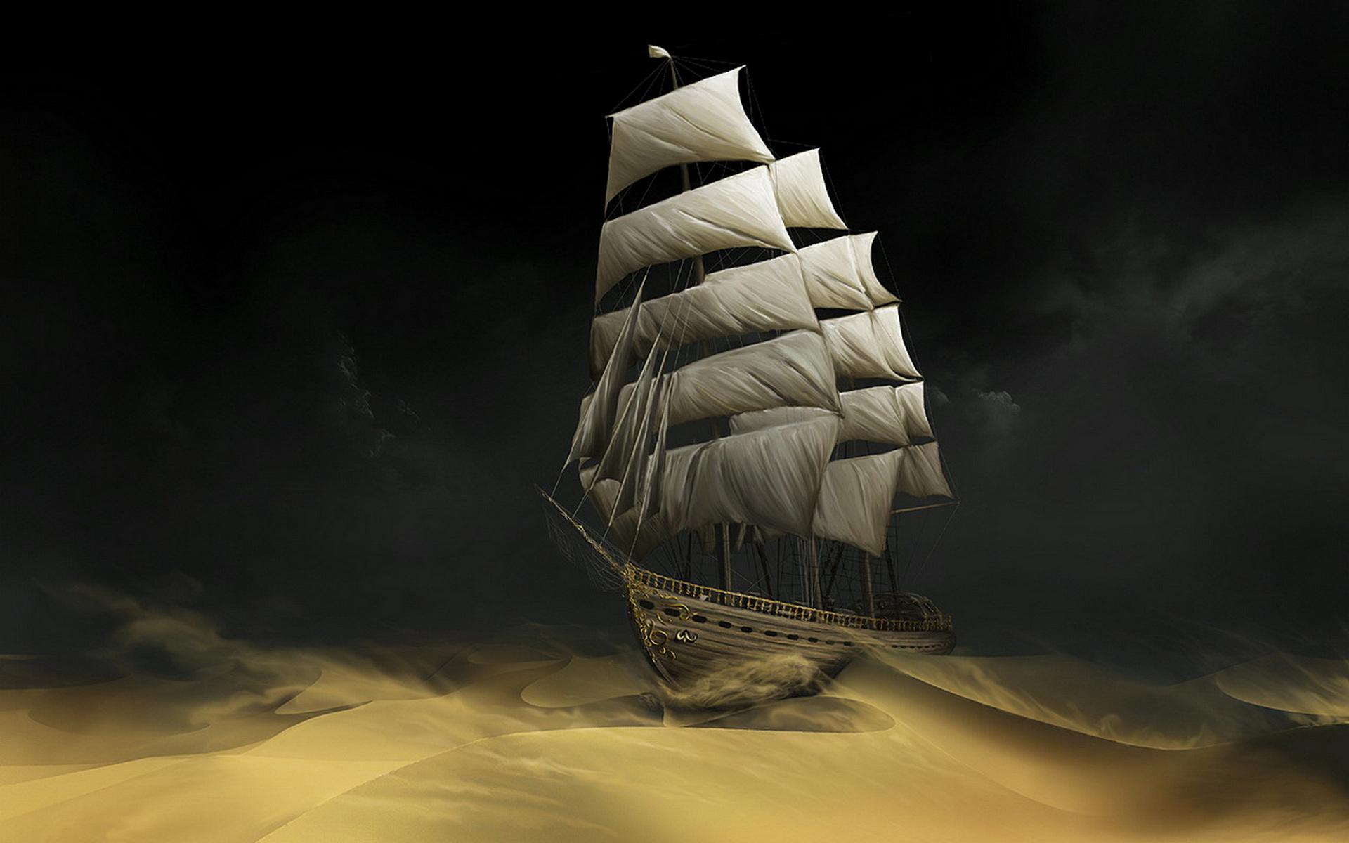Схема для вышивки  крестом   «Корабль  2 »  80 Х 50