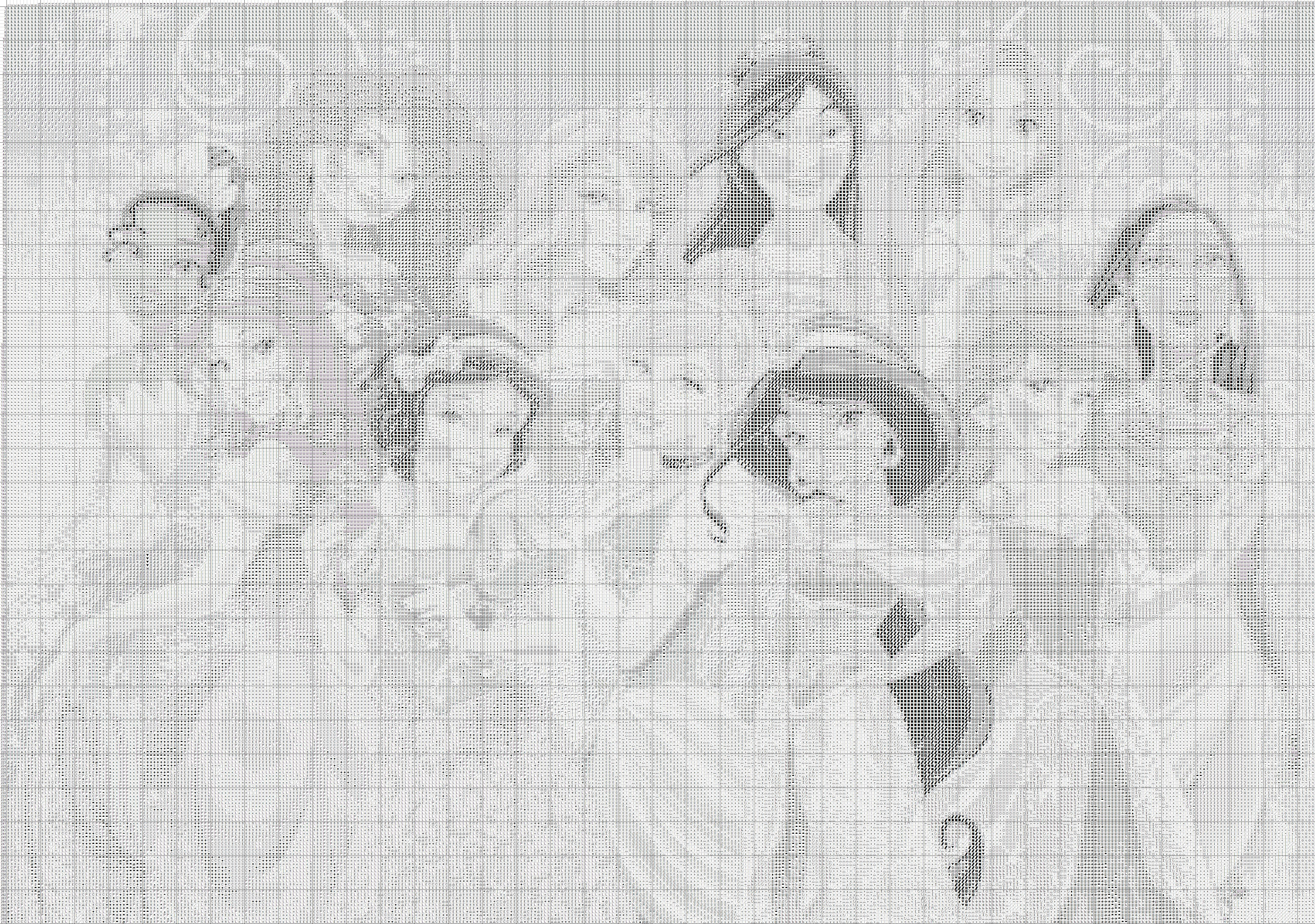 Крестик принцесса схема