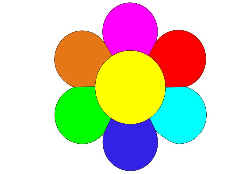 Схема для вышивки крестом « Цветочек » 20 Х 20