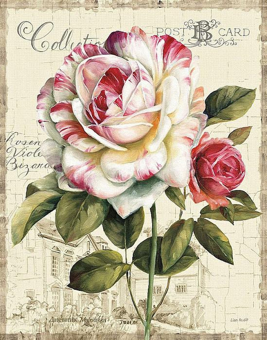 Схема для вышивки крестом «Цветы 4 » 65 Х 50